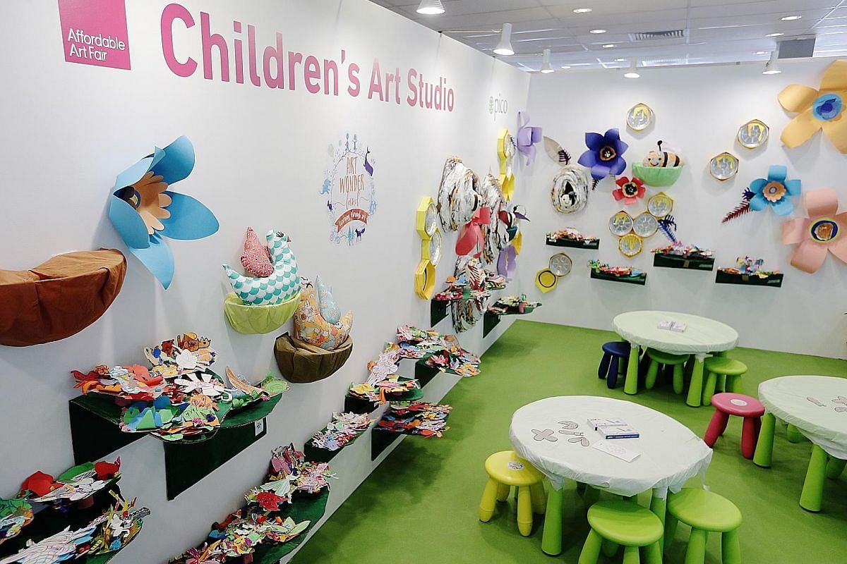 There will be a series of activities at the Children's Art Studio. British multidisciplinary artist Chloe Manasseh with her installation, Taking A Nap, Feet Planted, Against A Cool Wall. Artworks created by artists wearing virtual reality headsets, w