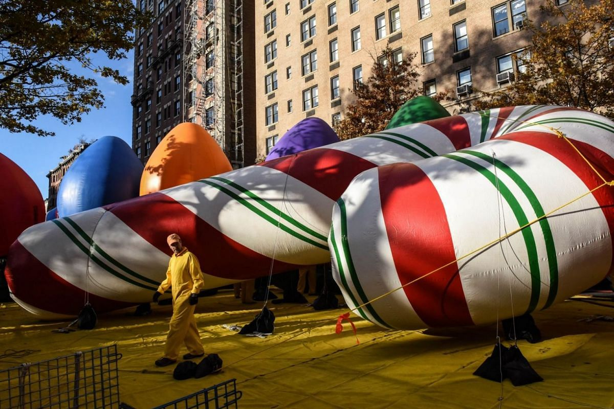 The annual Macy's Thanksgiving Day parade is the largest parade in the world dating back to 1924.
