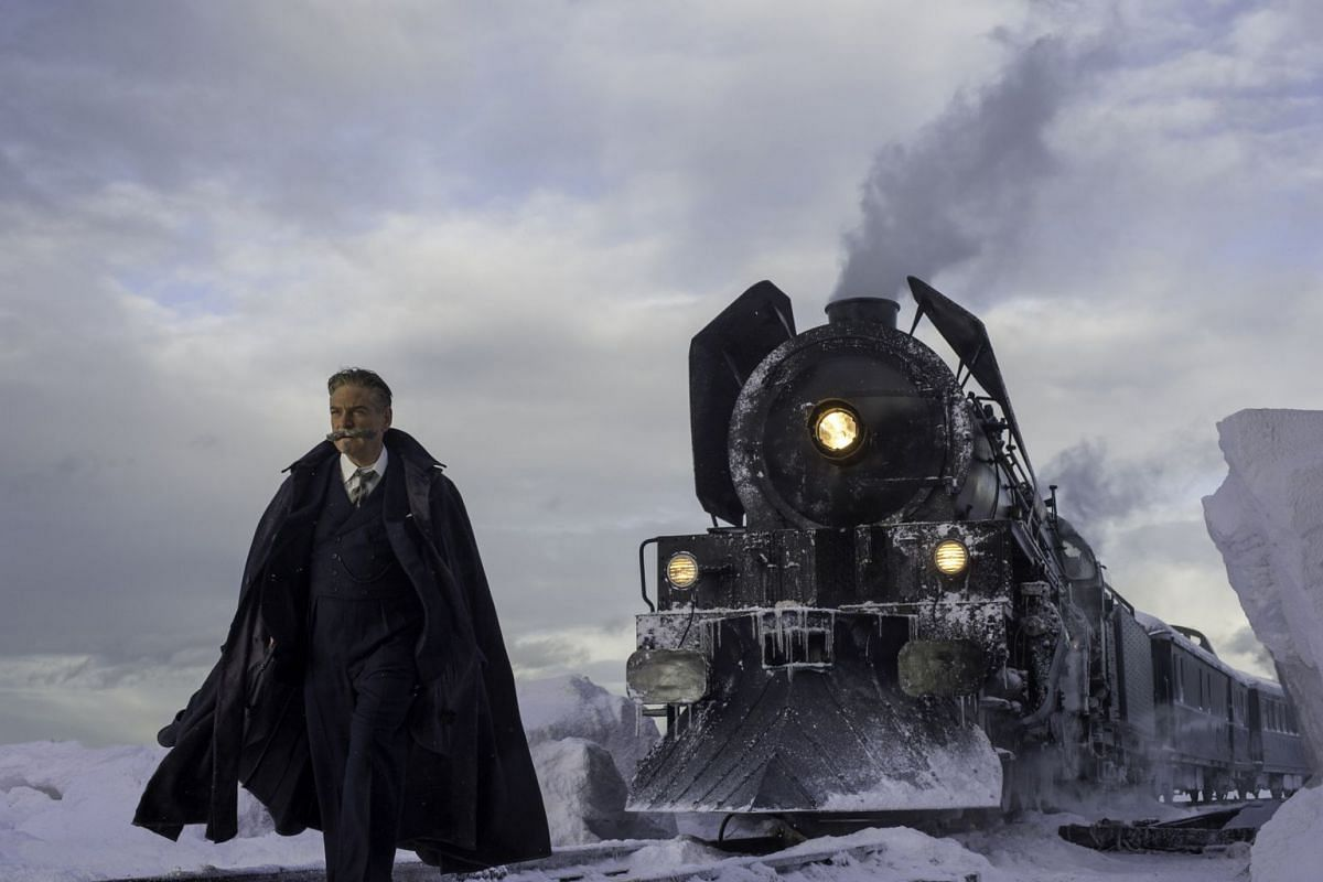 Kenneth Branagh directs and plays the role of Belgian detective Hercule Poirot in the adaption of Agatha's Christie's 1934 mystery Murder On The Orient Express.