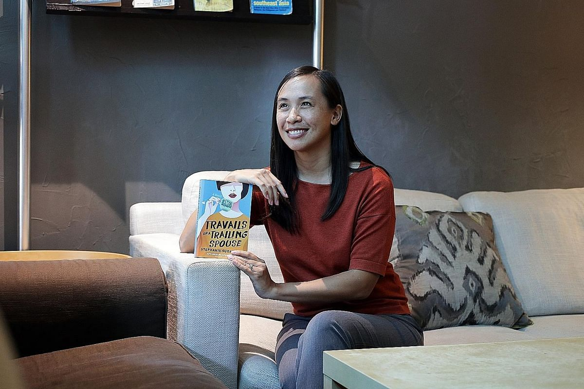 Taiwanese-American mother of two Stephanie Suga Chen gave up her job as an investment banker to follow her neuroscientist husband to Singapore in 2012, when he was offered a position in local academia.