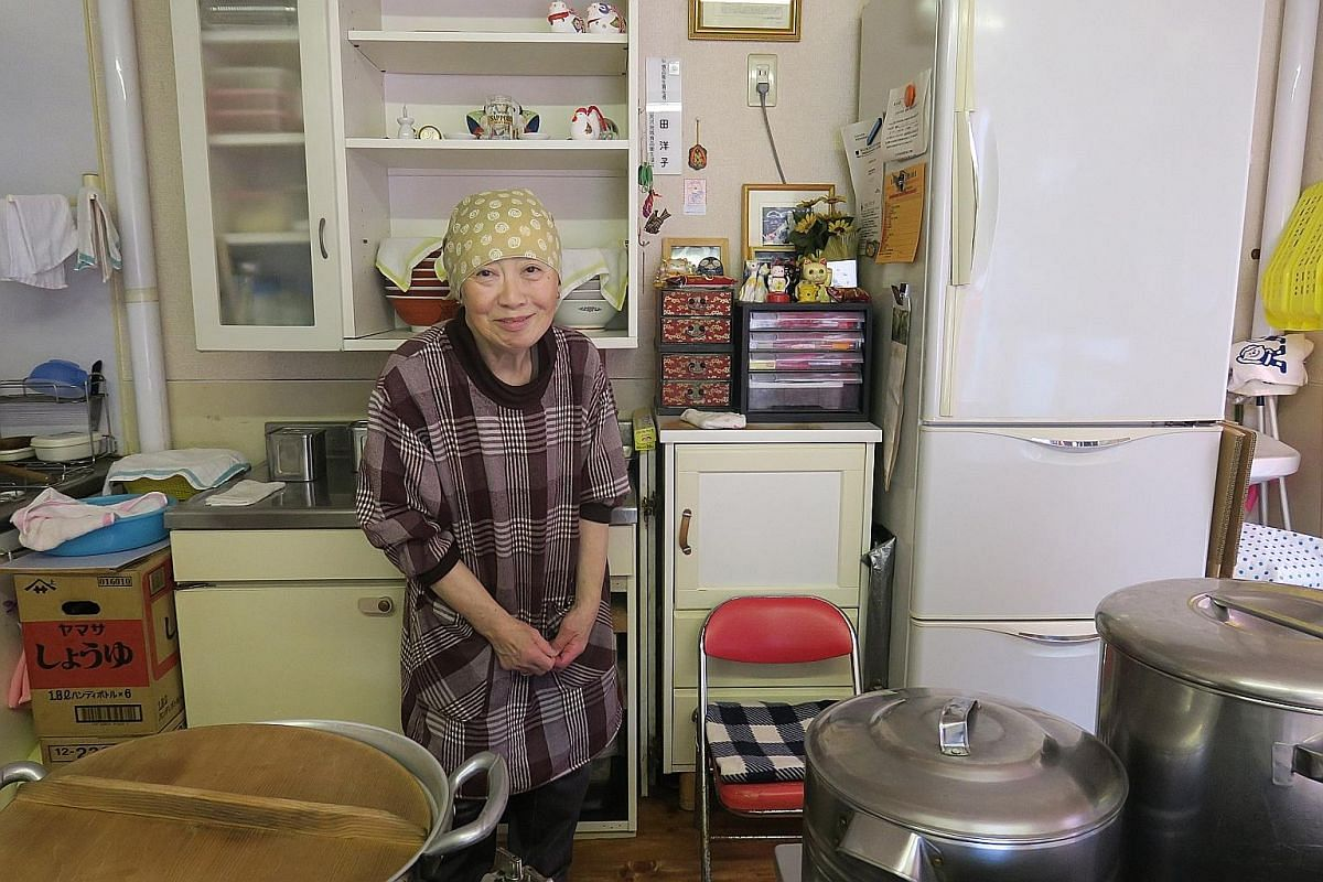 While Ms Yoko Yasuda, the third-generation owner of ramen joint Nonkiya near the Yubari city centre, loves the laid-back atmosphere of the city, she disliked its inconvenience.