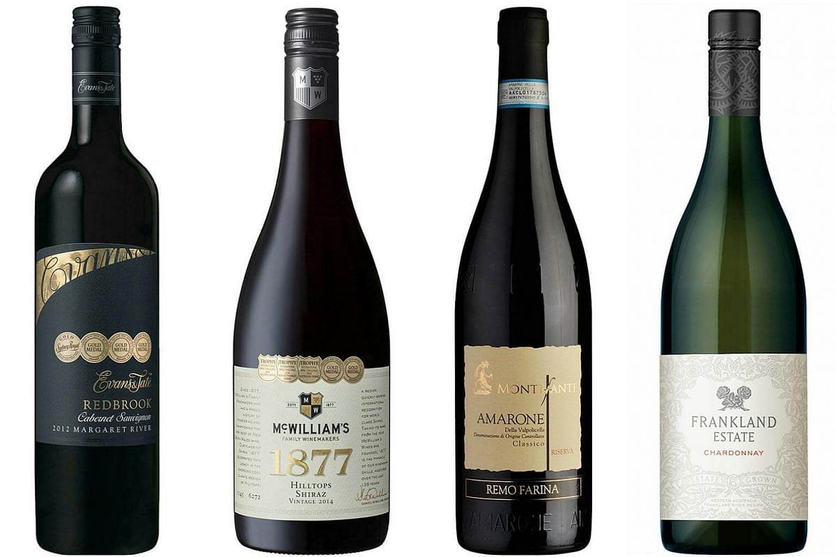 ST Wine presents a curated selection of 12 wines - one for each day of festive giving and merry-making, with food-pairing tips.