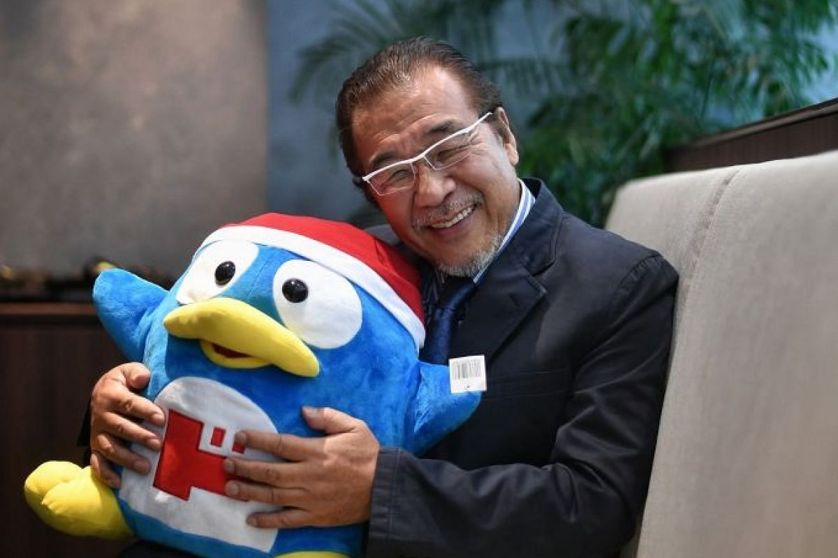 Mr Takao Yasuda (above) opened his first discount outlet, Don Don Donki, in Singapore on Dec 1 and hopes to have at least 10 stores here by 2022.