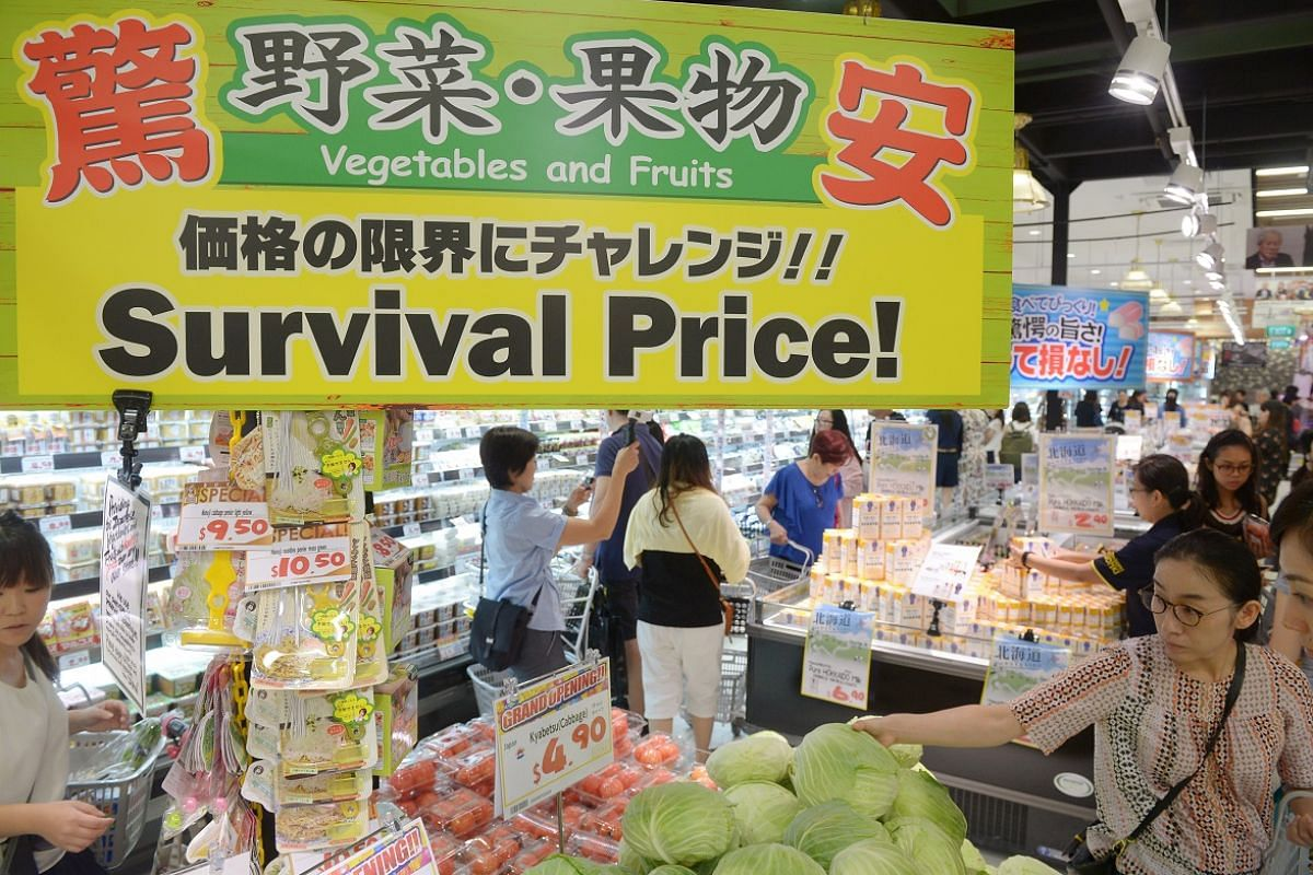 Mr Takao Yasuda opened his first discount outlet, Don Don Donki (above), in Singapore on Dec 1 and hopes to have at least 10 stores here by 2022.