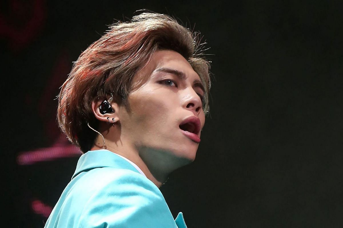 SHINee singer Kim Jong Hyun (above), better known as Jonghyun, was found unconscious on Monday in a rented apartment. He was rushed to a hospital where he was pronounced dead.