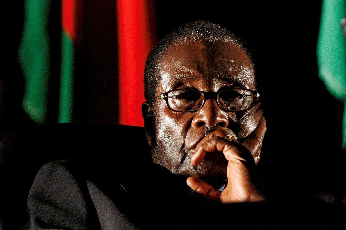 Former president Robert Mugabe, who had ruled Zimbabwe for 37 years since 1980, was ousted by the army on Nov 21.