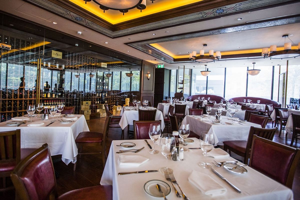 The Singapore branch of Wolfgang's Steakhouse opened two months ago.