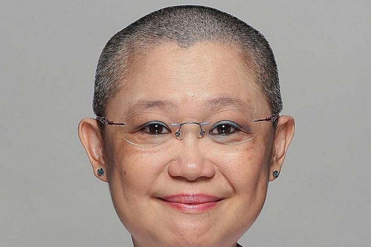 Optician Amy Low Wai Meng shaved her head for Hair For Hope 2017, an annual event to raise funds in support of children with cancer and their families. She was one of more than 380 people who made a bald statement at Kong Meng San Phor Kark See Monas