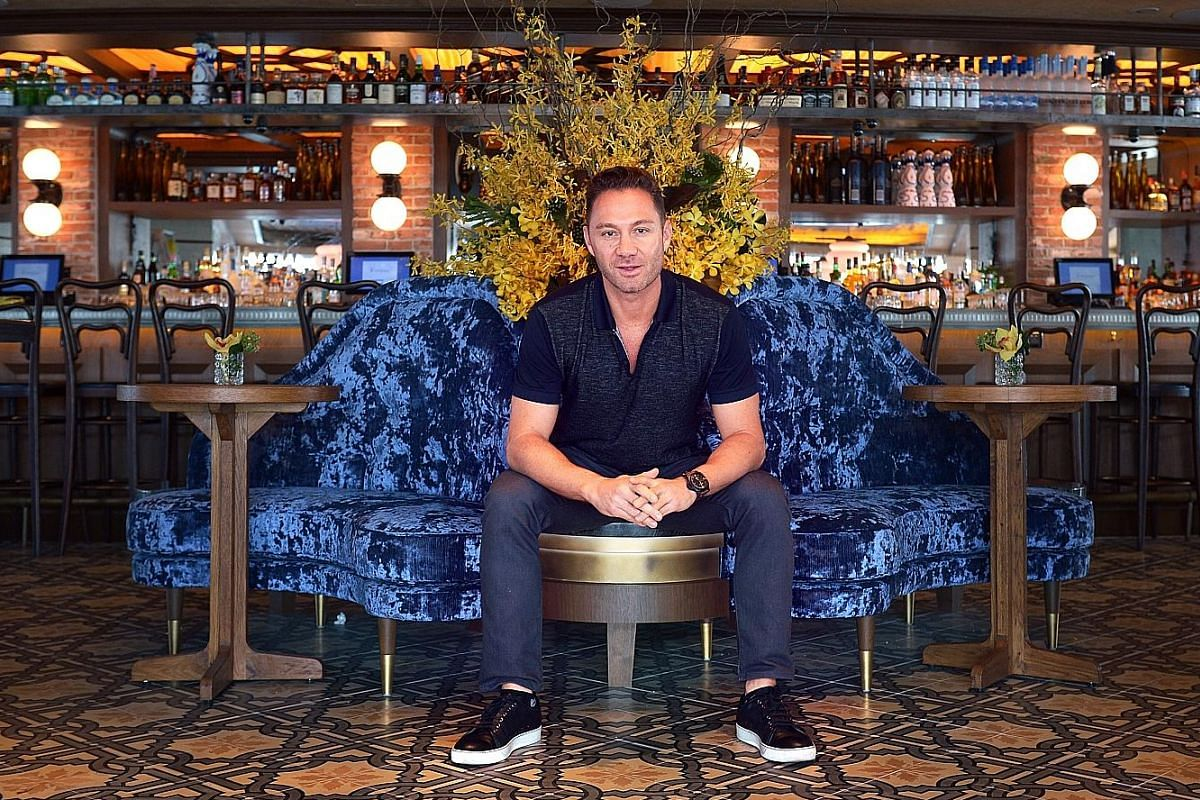 Mr Jason Strauss, co-founder of Tao Group, says at Lavo Singapore, guests will be able to enjoy the vibe no matter where they are sitting.
