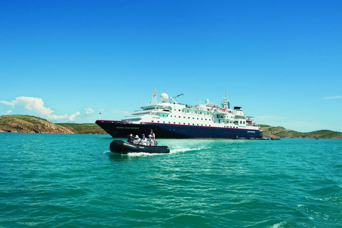 Speciality cruises such as Silversea Expeditions (above) target adventure travellers and their passions.