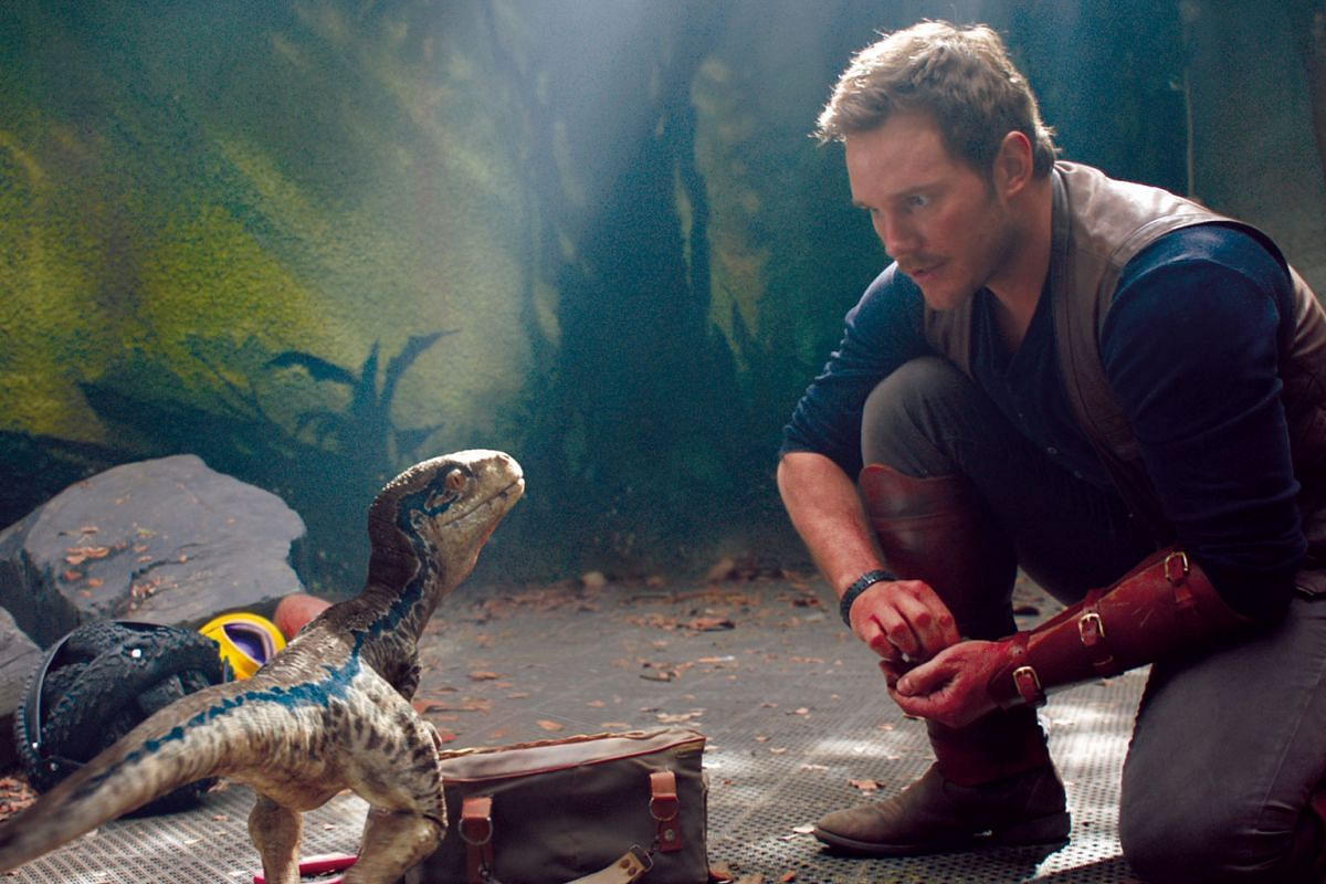 Jurassic World: Fallen Kingdom, starring Chris Pratt, is another take on the Jurassic World franchise, this time with dinosaurs roaming freely on the island after the theme park that formerly housed them shut down.