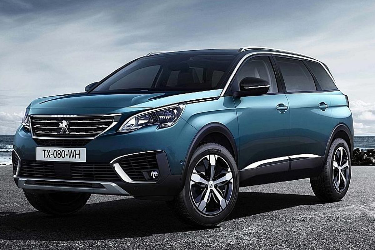 Peugeot 5008 seven-seater