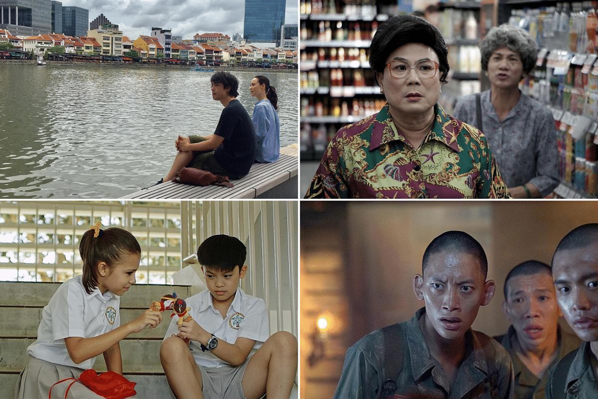 (Clockwise from top left) Ramen Teh, Wonderful Liang Xi Mei, 23:59II and The Wayang Kids.