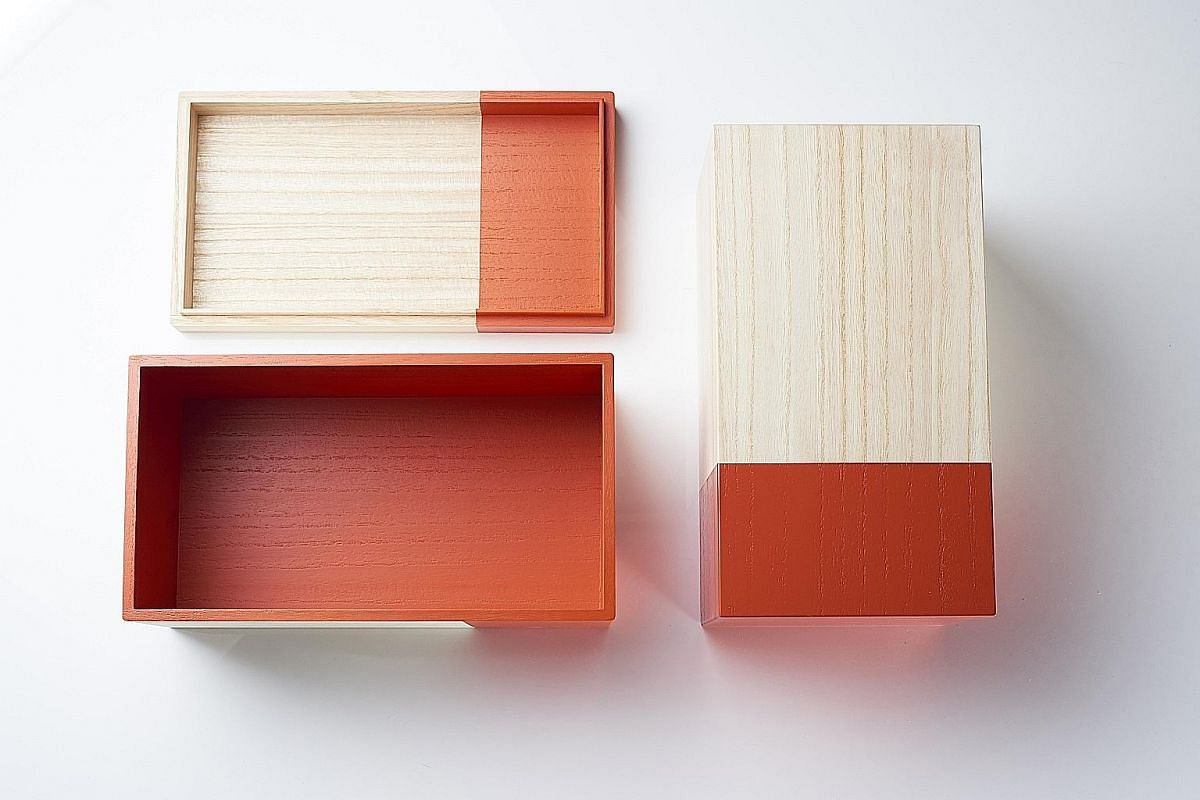 Kobo Collection includes the Museum Of My Mind storage boxes (above) by Hakoyoshi Kiribakoten Co; and the Pipe Dream Trivets and Bottle Opener (left) by Sasage Kogyo.