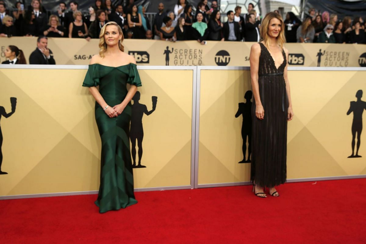 Actresses Reese Witherspoon (left) and Laura Dern.