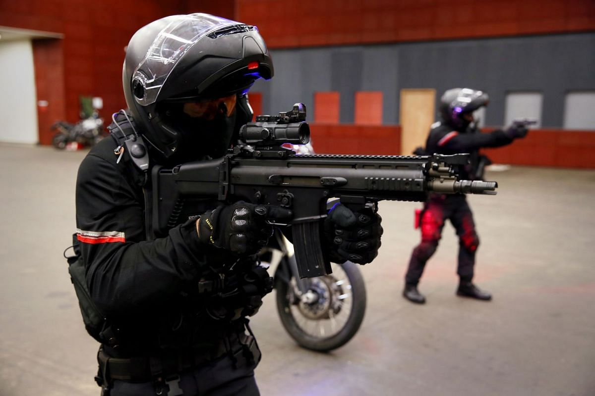 """The Rapid Deployment Troops (RDT) from the Special Operations Command (SOC) acts as the """"second wave"""" to support land division first-responders during a riot or terror incident."""