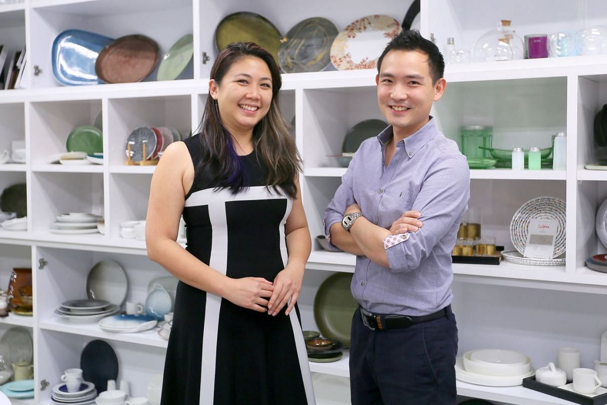 Ms Huilin Quek and her brother Kwan Yi Quek (both above) value the experience of their parents in building up the company.