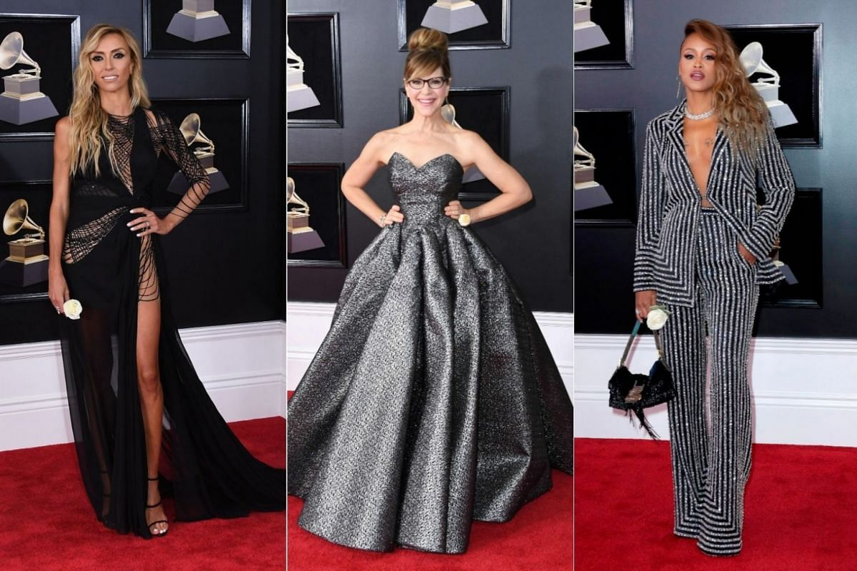 In Pictures: Stars arrive for 60th Grammy Awards, Photos