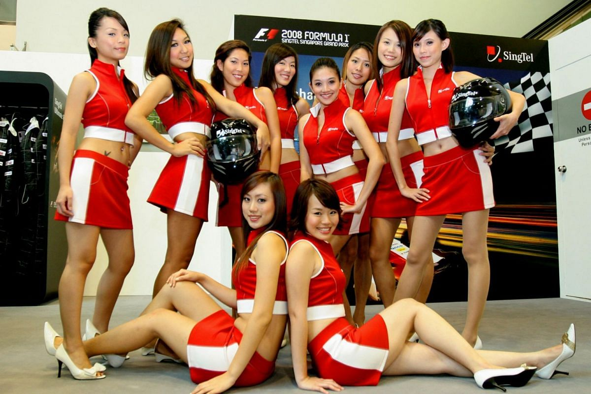 In russian singapore find where to girls Footage from