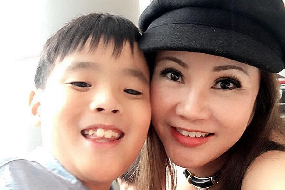 Ms Kho and Evan, the oldest of her four children. He was an affectionate and precocious child. Although extremely intelligent, he also sometimes appeared to have a delayed reaction to situations. A successful entrepreneur, Ms Doreen Kho's life was sh