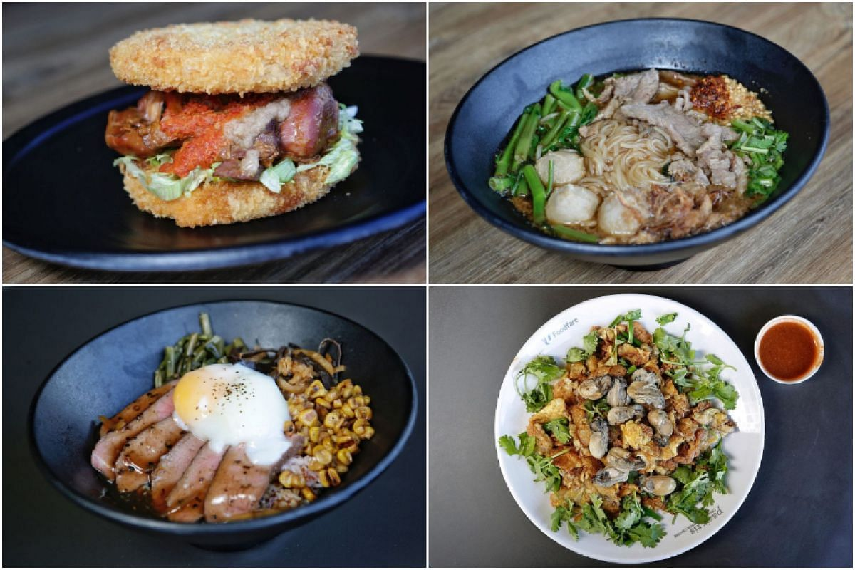 Pasir Ris Central Hawker Centre has now become a hot foodie destination, with 22 stalls run by a new generation of modern hawkers presenting hipster food at Fareground, a spacious area on its second floor.