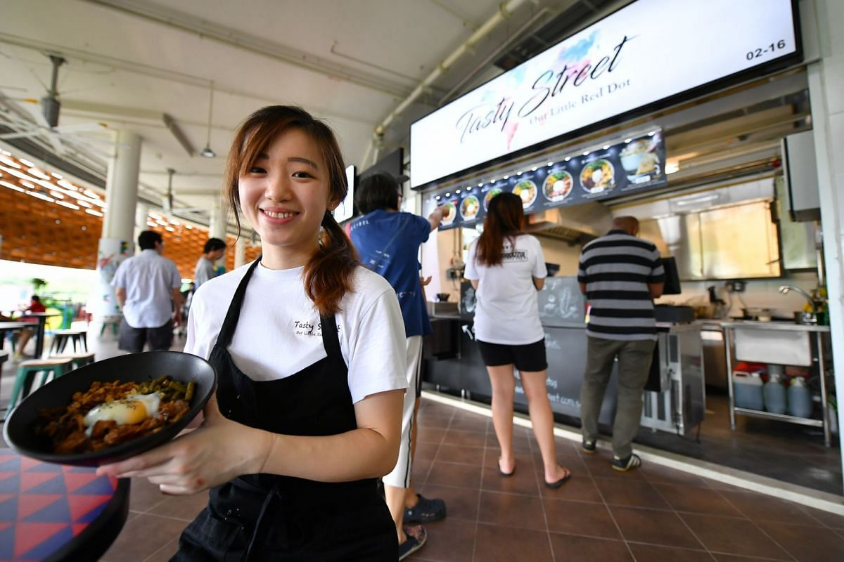 Ms Cheryl Tan (above), owner of Tasty Street.