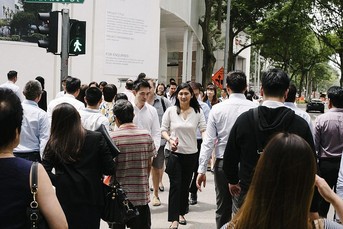 These days, about a quarter of the job seekers who register with Workforce Singapore's Careers Connect and the National Trades Union Congress' Employment and Employability Institute centres are not unemployed. WSG career coach Andrew Er says his role