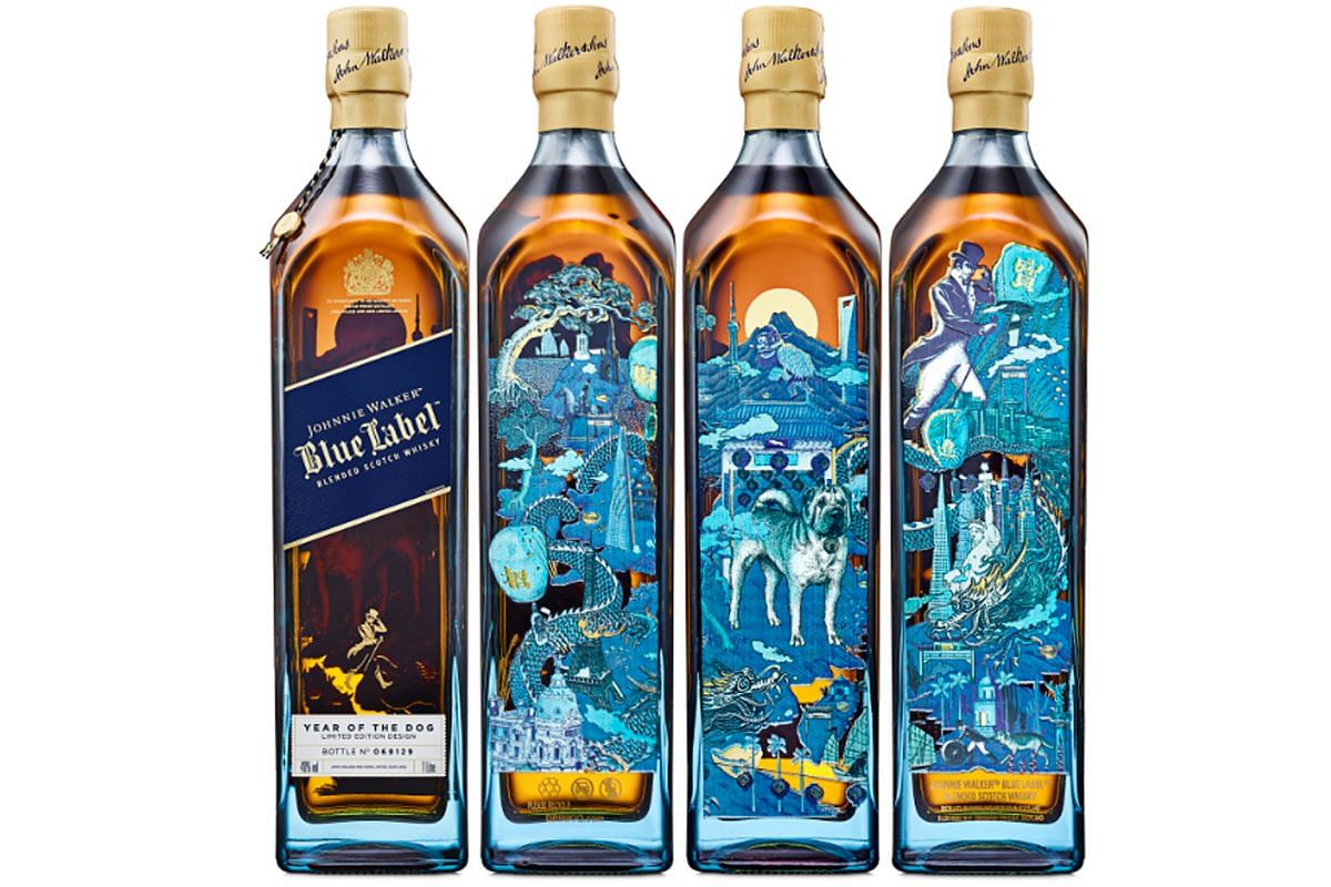 Year of the Dog Limited Edition Johnnie Walker Blue Label