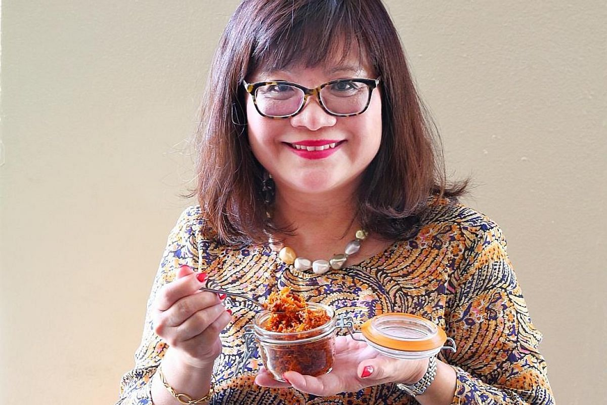 Mrs Alice Chai takes up to six hours to prepare a 2kg batch of XO chilli sauce.