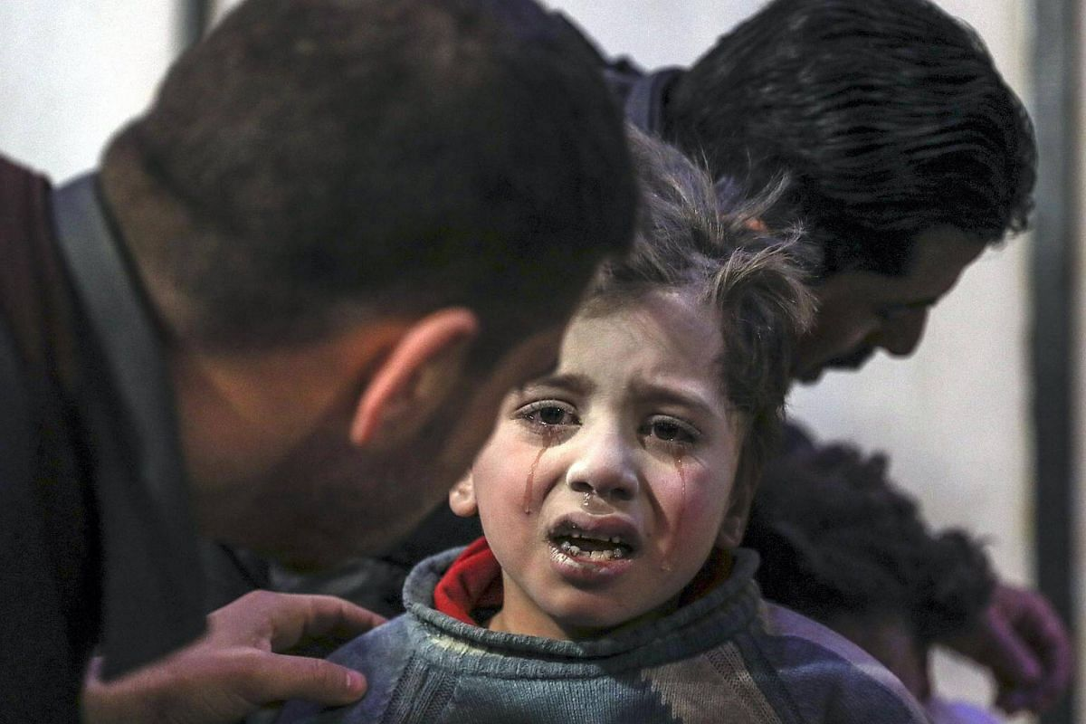 The latest escalation in hostilities started on Feb 18, 2018, and the dead included 18 children.