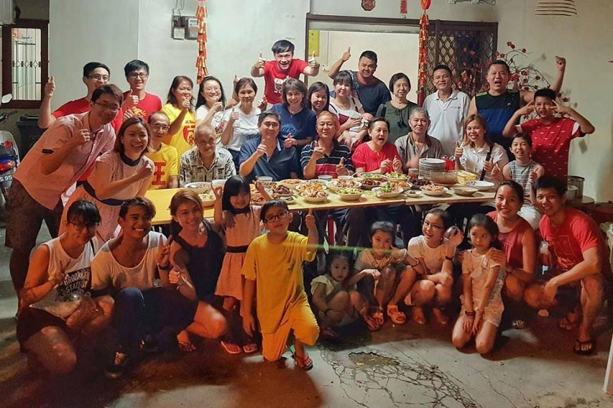 ST reader Michelle Ling shares a photo of the three generations of the Chum Clan, at a Chinese New Year gathering in Kota Tinggi, Malaysia, on Feb 17, 2018.