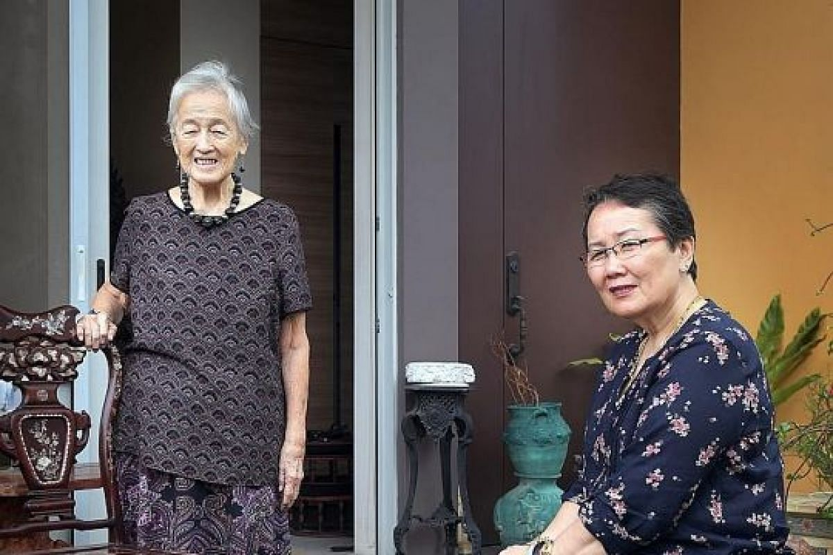 Madam Chung Khin Chun has been living with her niece Hedy Mok at the latter's semi-detached house off Upper East Coast Road since 2014. The elderly woman's property in Gerald Crescent, off Yio Chu Kang Road, was put up for sale by tender at a minimum