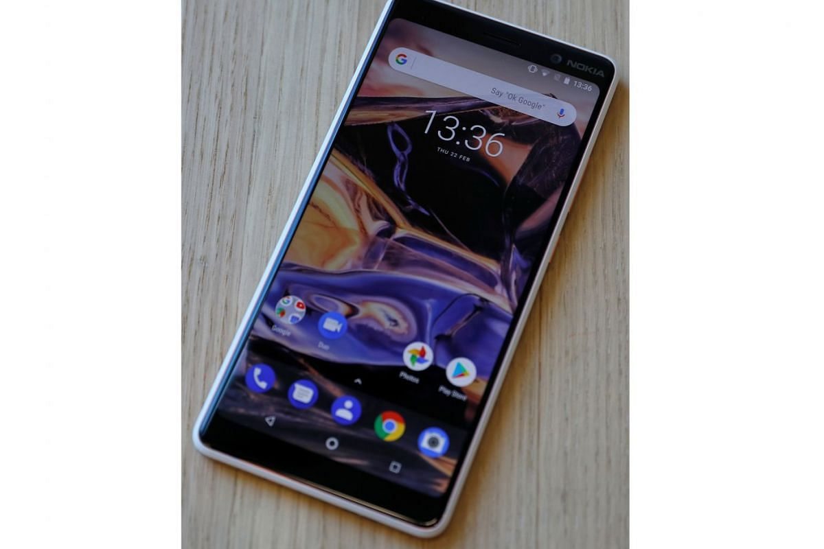 The Nokia 7 Plus looks like a premium smartphone, with a colourful and vibrant screen and a sturdy, comfortable body that feels solid in the hand.