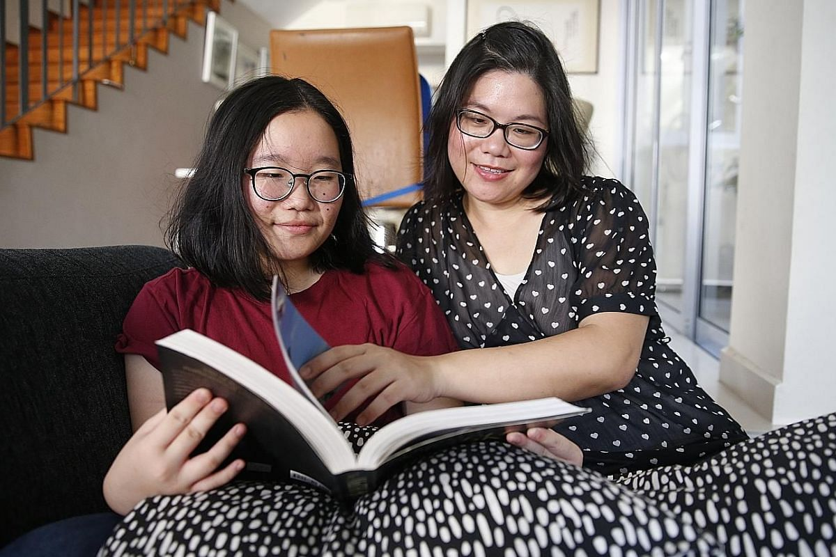 Ms Janice Tee says being homeschooled has taught her to manage her time. Charmaine Or (with her mother, Mrs Tracey Or, both above) spent a few years being homeschooled. Mr Jeremiah Tan says exposure to views and arguments that are contrary to his has