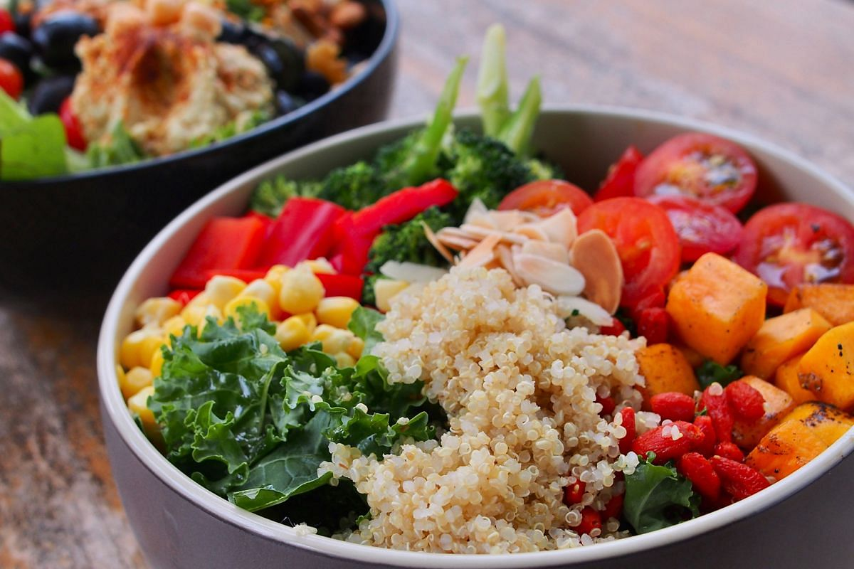 Selected restaurants under The Prive Group offer the Awesome Superfood Bowl, which includes quinoa, kale, broccoli, goji berries and cherry tomatoes.