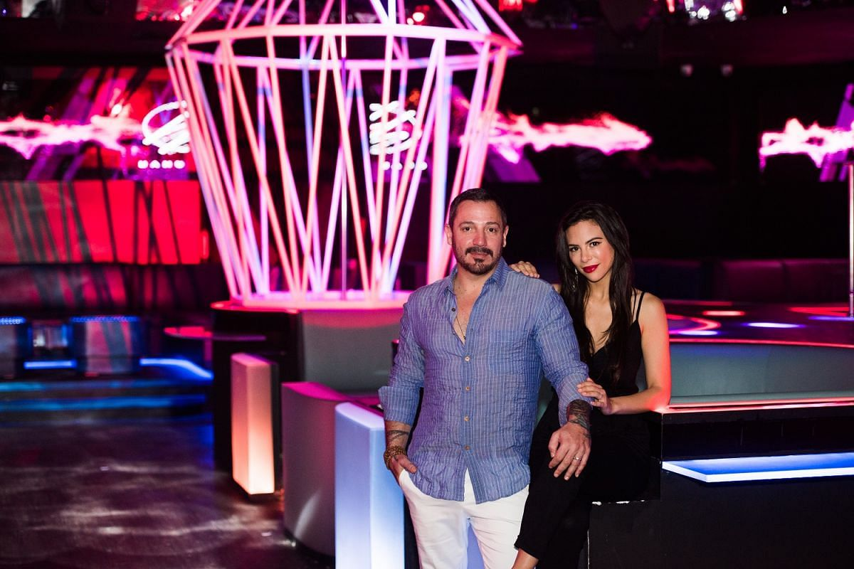 Mr Joshua Schwartz and Mrs Sarissa Rodriguez Schwartz are behind SJS Group, which owns and operates Bang Bang and Lulu's Lounge, both at the Pan Pacific Singapore hotel.