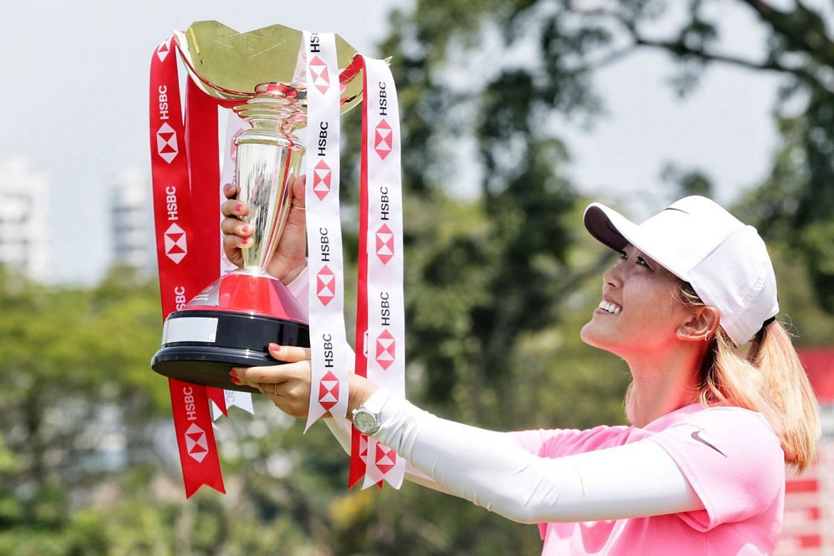 It took four years but American golf star Michelle Wie is finally a champion again, and in dramatic fashion. The 28-year-old sank a 45-foot birdie on the 18th hole to capture the HSBC Women's World Championship on March 4, 2018 by a single stroke.