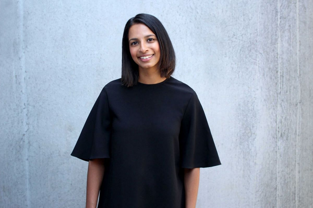 WHO: Ms Shamini Rajarethnam, 32, chief executive of Rationale Skincare, an Australian brand. Her husband Athan Didaskalou, also 32, is Australian and the founder and managing director of artisan coffee subscription service Three Thousand Thieves Coff