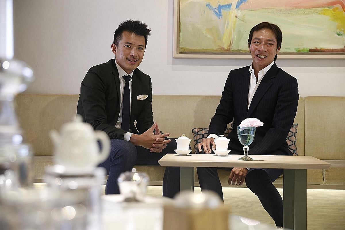 Mr Nelson Loh (left) and Mr Terence Loh founded Asia's largest medical aesthetic and healthcare group, with a network of 100 clinics across Singapore and the region.