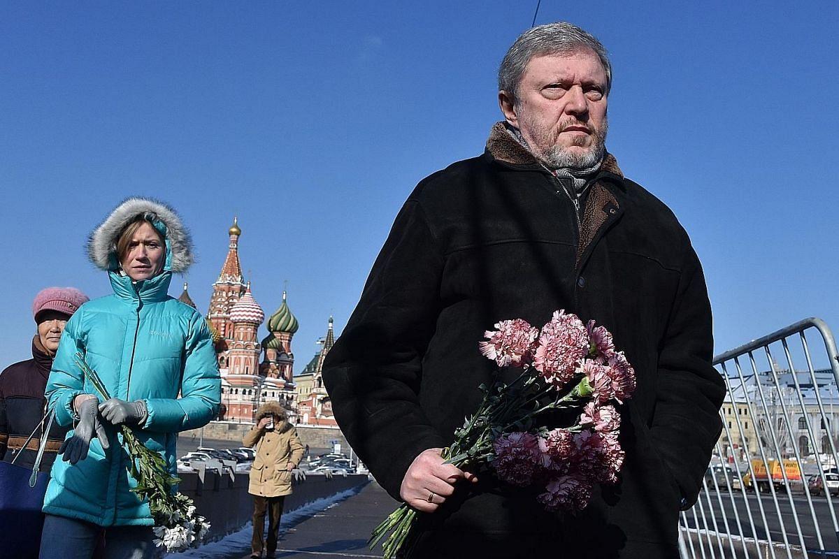 GRIGORY YAVLINSKY, 65 (Yabloko): He has been delivering fierce public criticism of Mr Putin's policies towards Ukraine.