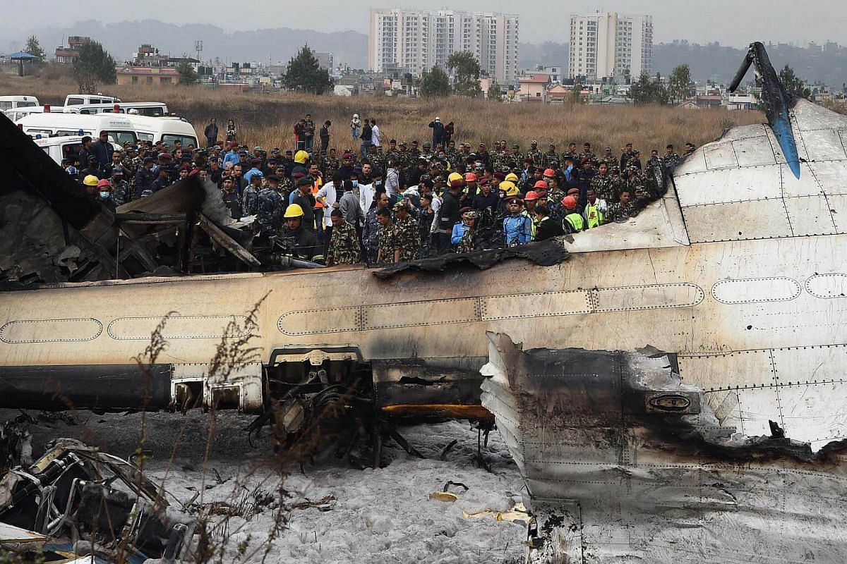 There were 67 passengers and four crew on board the US-Bangla Airlines plane from Dhaka.