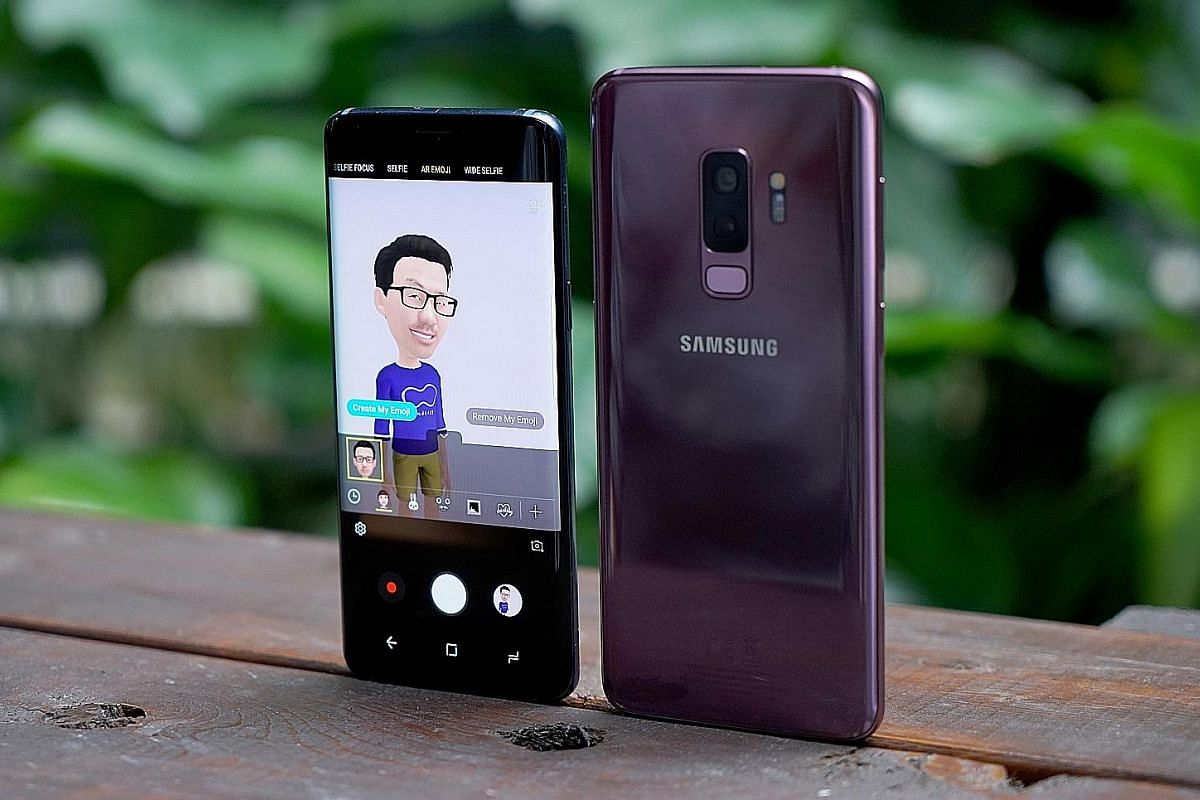 Samsung has chosen to focus its attention on camera upgrades and gimmicks such as AR Emoji (above) to make its S9 phones stand out.