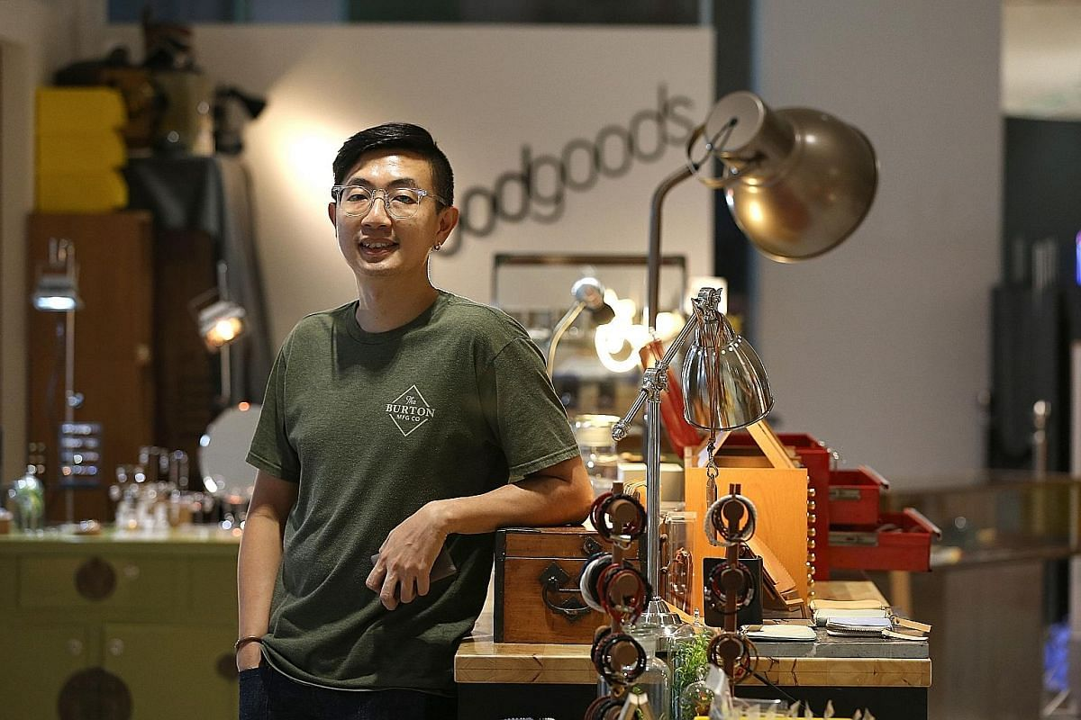 Goodgoods owner David Low says those who frequent the gyms and dance studios in Downtown Gallery mall also show up in his lifestyle store on the first floor.