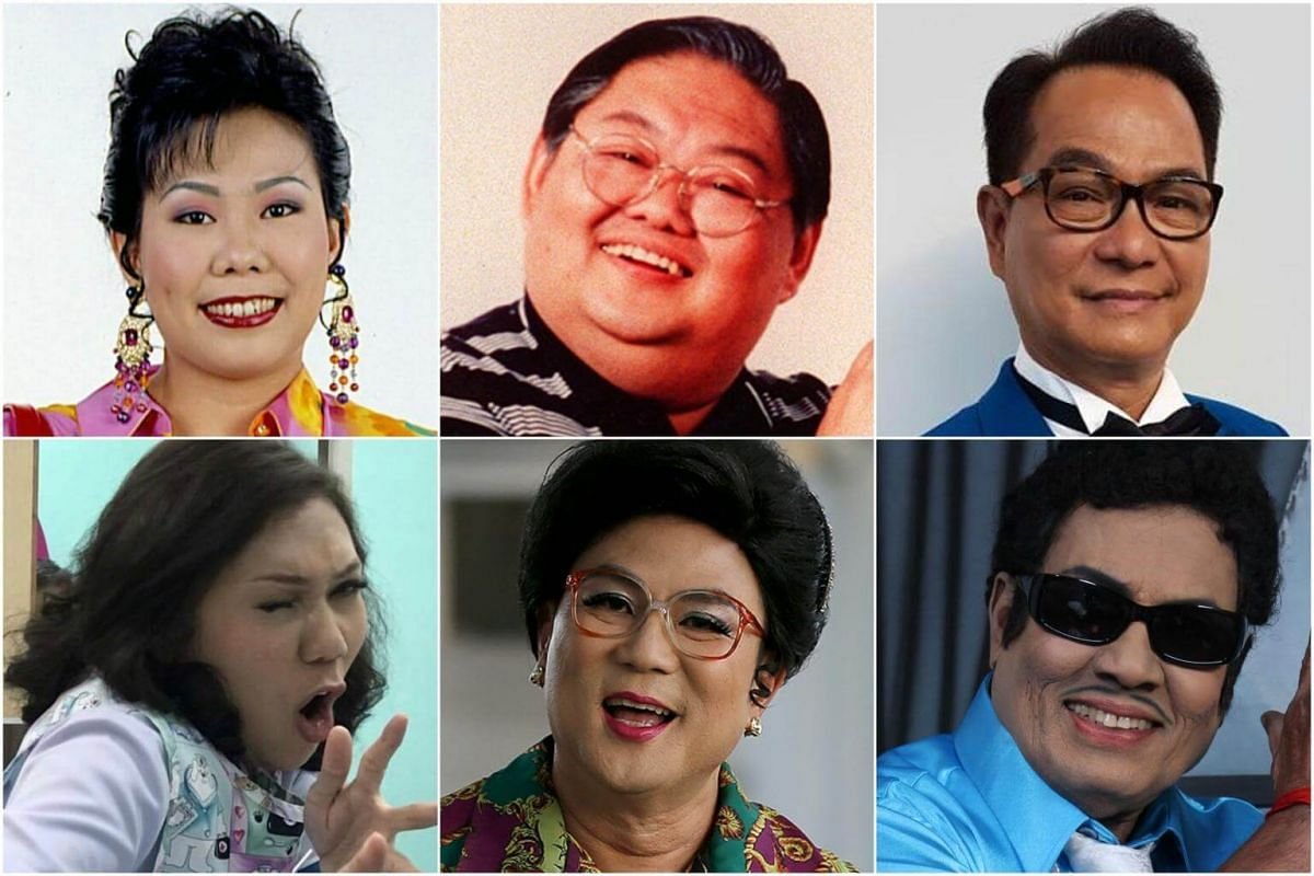 (Clockwise from top left) Irene Ang, Moses Lim, Richard Low, Jayaram Ramaiya, Jack Neo and Mastura Ahmad.