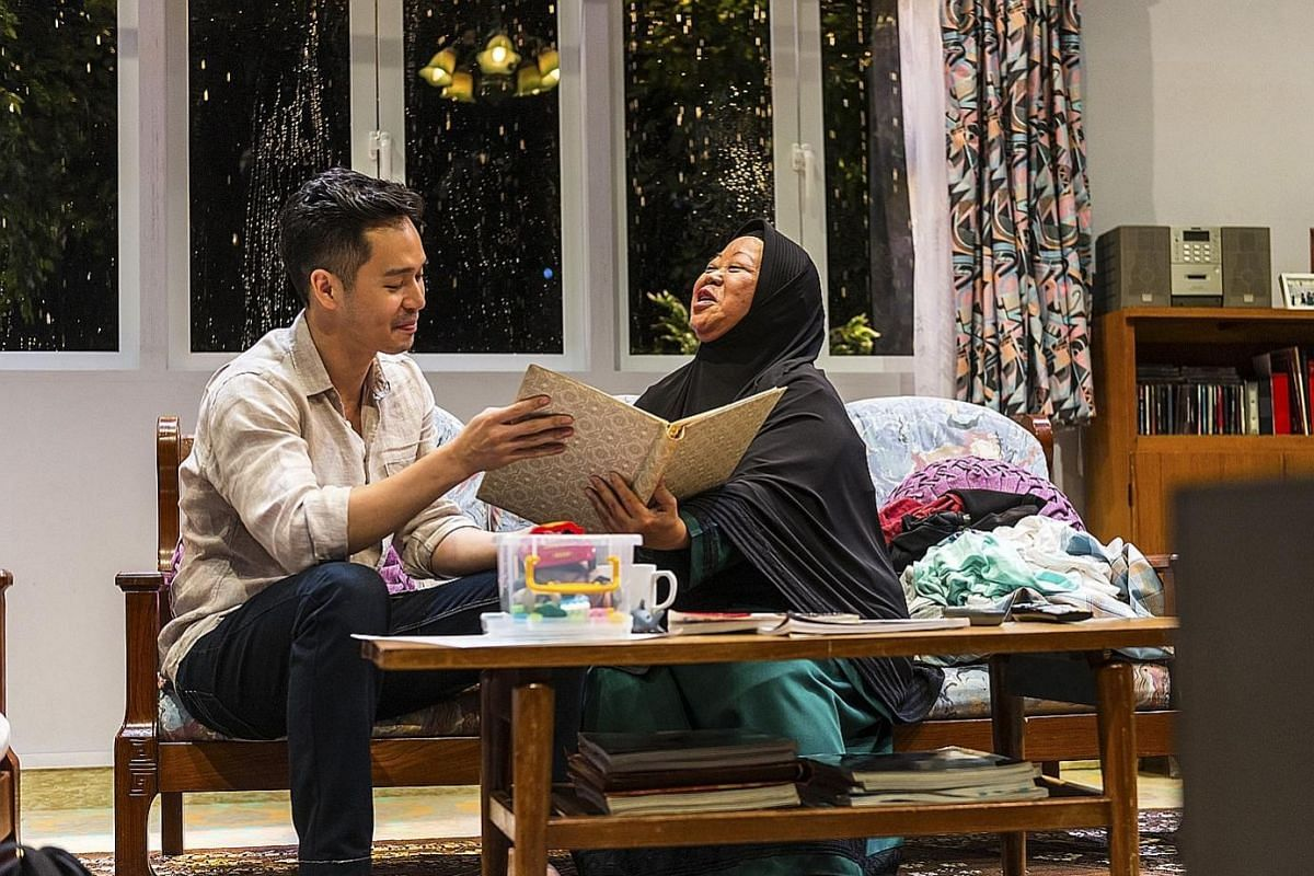Set designer Wong Chee Wai's favourite sets include Fundamentally Happy (above left) by Nine Years Theatre and Titoudao (above right) by Toy Factory Productions.