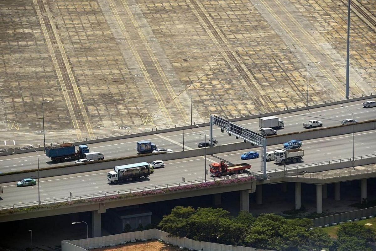 Where once you could see giant stacks of colourful containers at Tanjong Pagar Terminal as you drove along Keppel Viaduct, the yard now looks deserted.