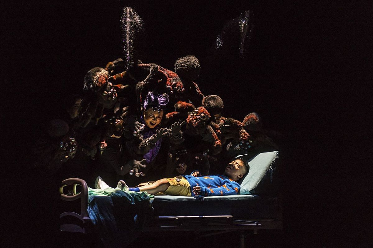 Wong Chee Wai's work for Itsy: The Musical by The Finger Players is nominated for Best Set Design at the Life Theatre Awards this year.