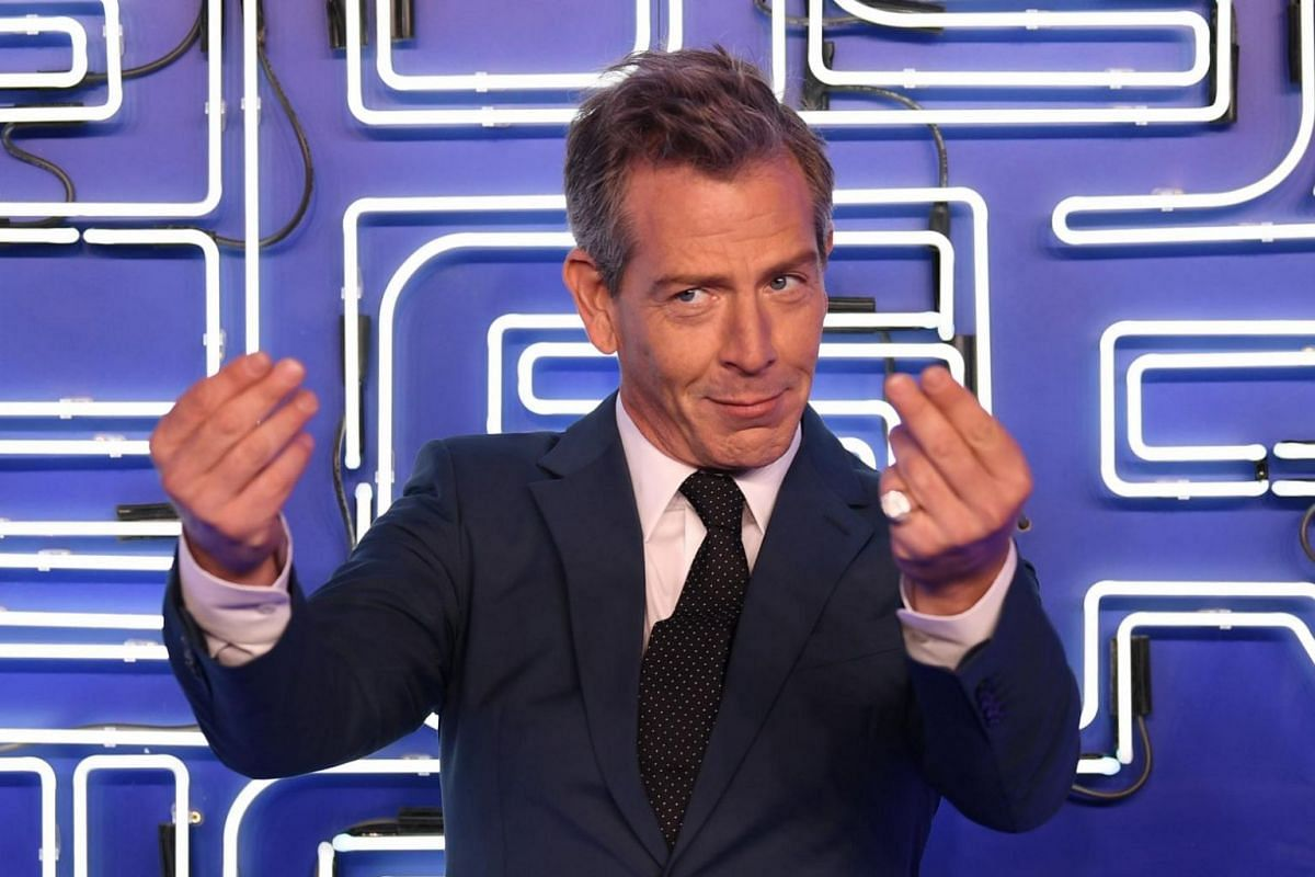 Australian actor Ben Mendelsohn at the European premiere of Ready Player One in London.