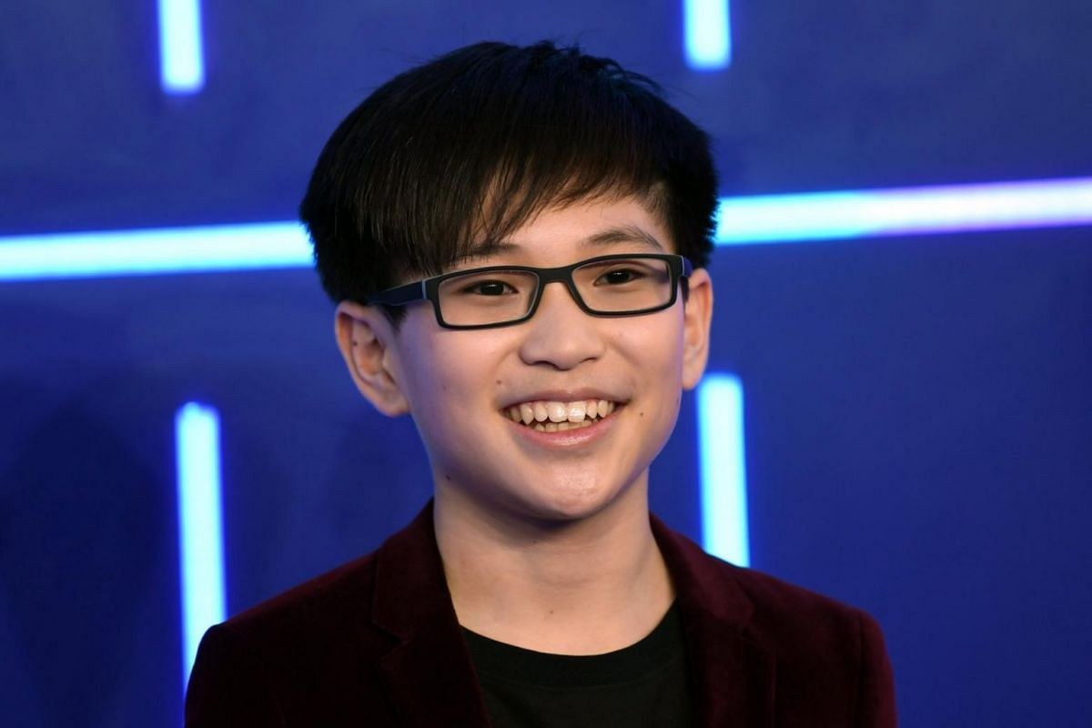US actor and cast member Phillip Zhao attending the European premiere of the movie Ready Player One in London.
