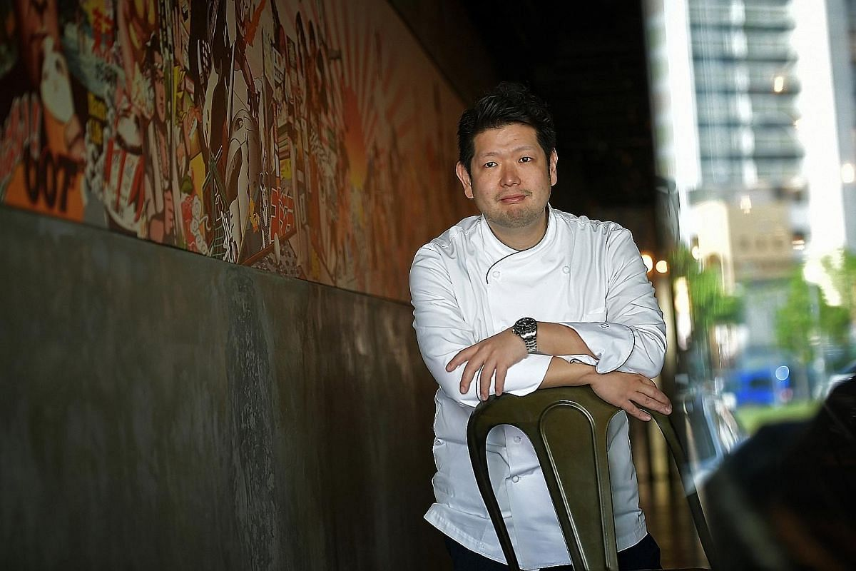 Chef Hideki Ii says he will eat anything except insects.